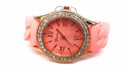 Ρολόι με καουτσούκ λουράκι