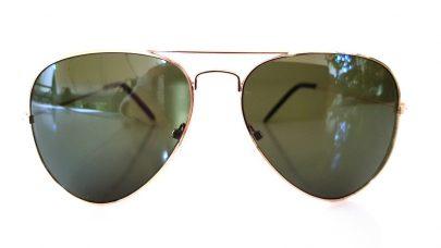 Γυαλιά ηλίου μεπράσινο φακό