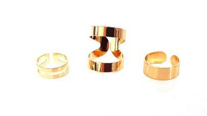 Σετ 3 δαχτυλιδιών