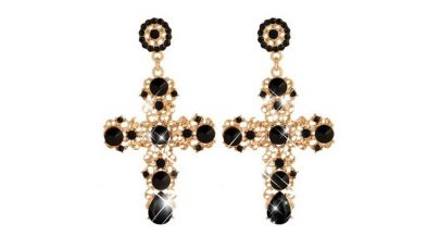 Σκουλαρίκια σταυροί