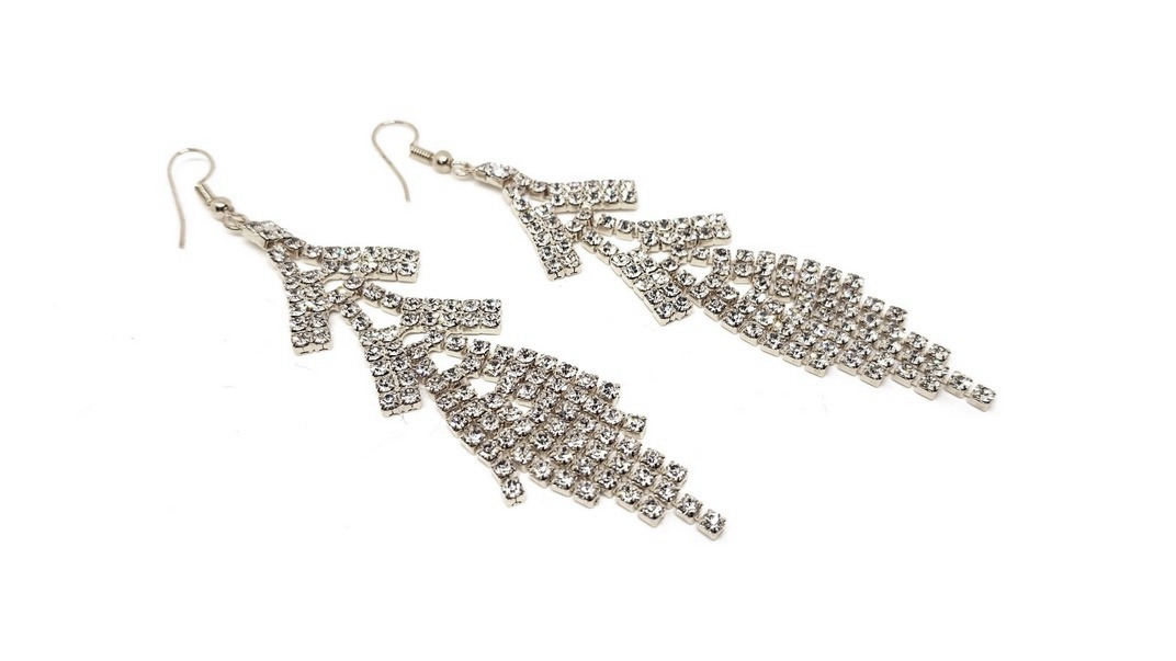 Strass Earrings Pagoda Ashmi