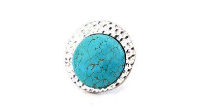 Δαχτυλίδι με μπλε πέτρα χαολίτη