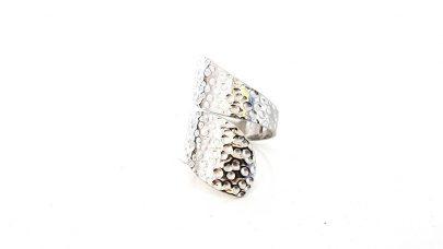 Ατσάλινο στριφτό δαχτυλίδι