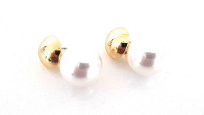Σκουλαρίκια με πέρλες