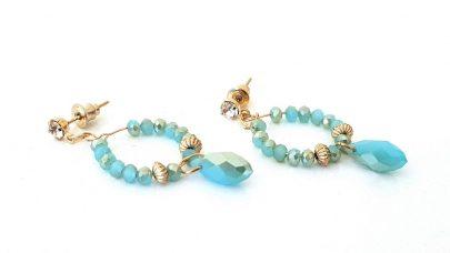 Κρεμαστά σκουλαρίκια με χάντρες