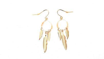 Σκουλαρίκια με φτερά