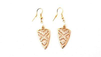 Κρεμαστά τριγωνικά σκουλαρίκια