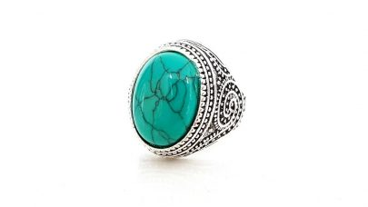 Men's ring with stone