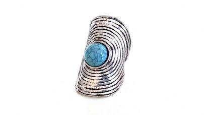 Δαχτυλίδι με boho σχέδια