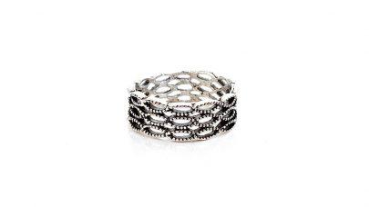 Δαχτυλίδι με διάτρητα σχέδια