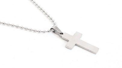 Ανδρικός ατσάλινος σταυρός