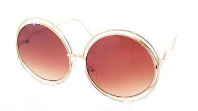 Μεγάλα στρογγυλά γυαλιά ηλίου