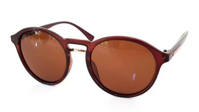 Γυαλιά ηλίου με στρογγυλεμένους πολωτικούς (polarized) φακούς
