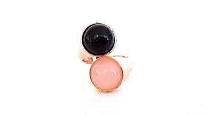 Δαχτυλίδι με δύο πέτρες