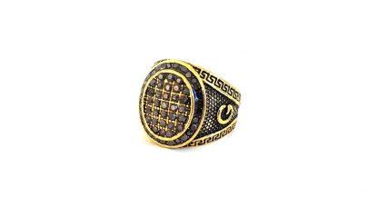 Ανδρικό δαχτυλίδι με στρας