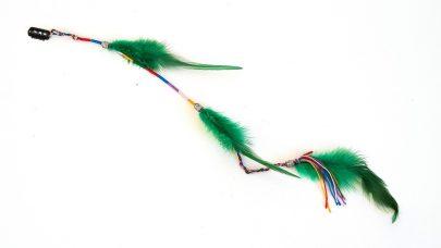 Κλιπ μαλλιών με φτερά