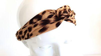 Κορδέλα μαλλιών λεοπάρ