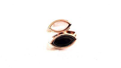 Δαχτυλίδι με χρωματιστές πέτρες
