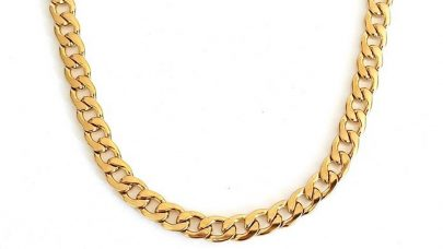 Steel neck chain