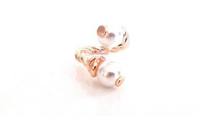 Δαχτυλίδι με πέρλες one size