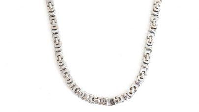 Steel neck chain