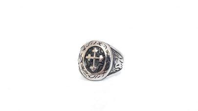 Ανδρικό ατσάλινο δαχτυλίδι