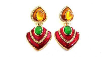 Χρωματιστά σκουλαρίκια