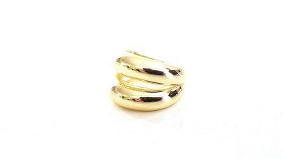 Διπλό δαχτυλίδι από χαλκό