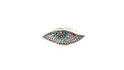 Δαχτυλίδι μάτι με στρας