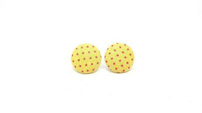 Polka dot earrings set