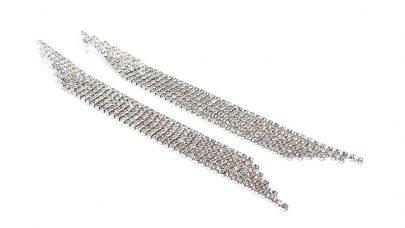Κρεμαστά σκουλαρίκια με στρας