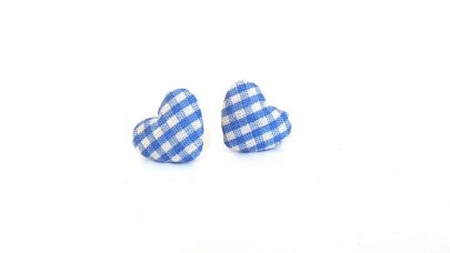 I burn heart earrings