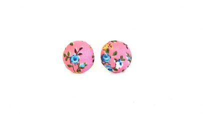 Φλοραλ σκουλαρίκια
