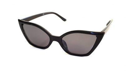 Γυαλιά ηλίου cat eye με πολυγωνικούς φακούς