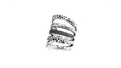 Boho δαχτυλίδι με πολλές σειρές