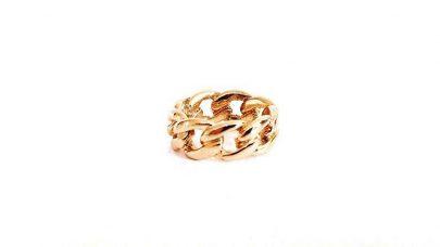 Δαχτυλίδι με σχέδιο αλυσίδας
