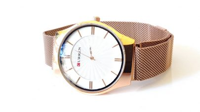 Ρολόι με μεταλλικό μπρασελέ και μαγνητικό κούμπωμα