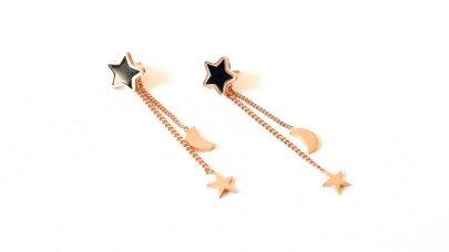 Σκουλαρίκια με αστέρια