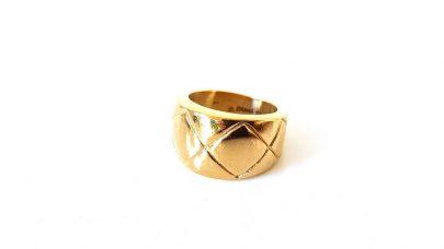 Ατσάλινο φαρδύ δαχτυλίδι