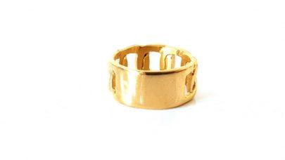 Ατσάλινο δαχτυλίδι αλυσίδα