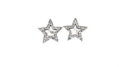 Κοντά σκουλαρίκια αστέρια με κλιπ