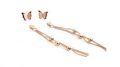 Πολυμορφικά σκουλαρίκια με πεταλούδες