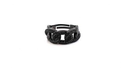 Ατσάλινο μαύρο δαχτυλίδι