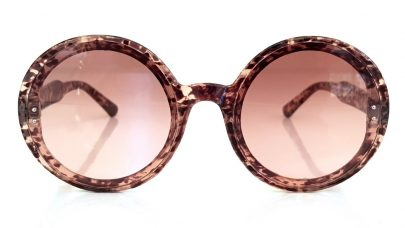 Γυαλιά ηλίου με στρογγυλούς φακούς