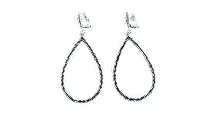 Σκουλαρίκια με κλιπ, κρεμαστά