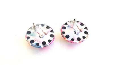 Σκουλαρίκια με φλοράλ σχέδια