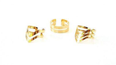 Σετ γυναικείων δαχτυλιδιών